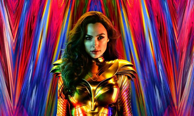 WONDER WOMAN 1984 Poster Features Diana's New Golden Suit