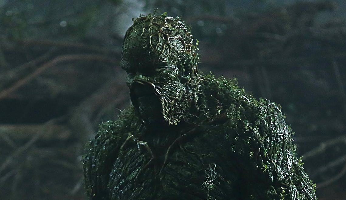 Still Image of the titular Swamp Thing