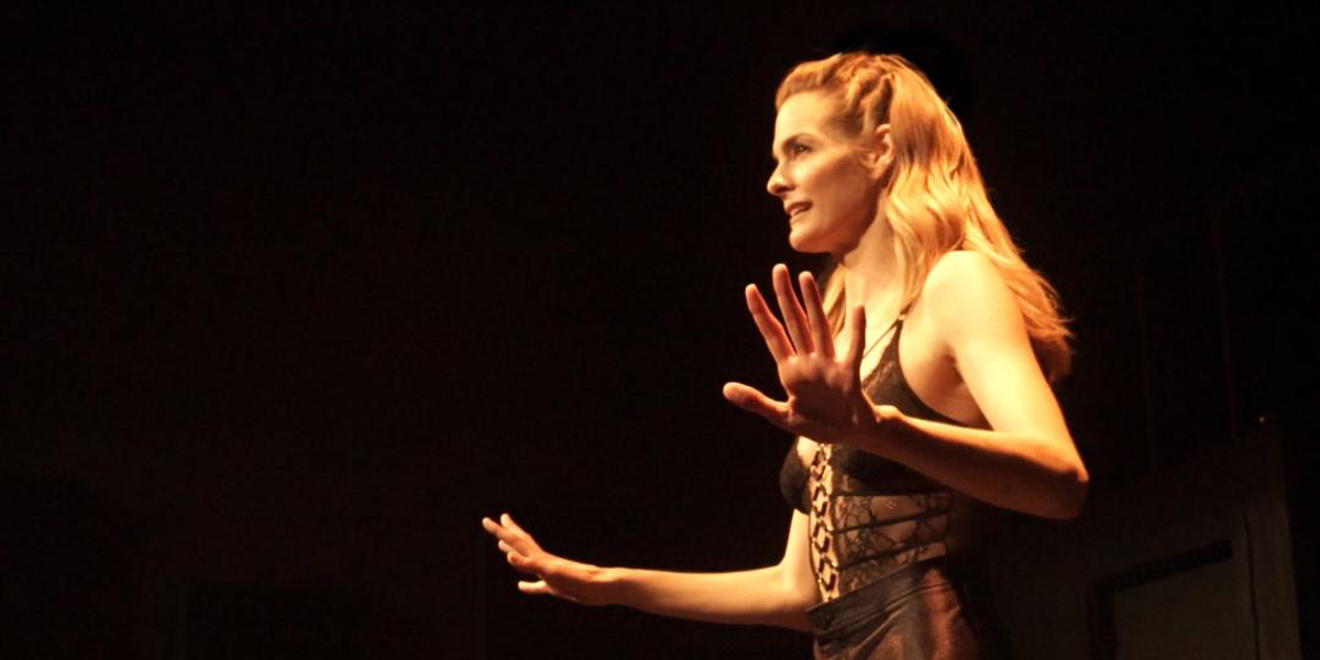 Nicole Steinwedell in Temple Tantrum at Hollywood Fringe Festival 2019