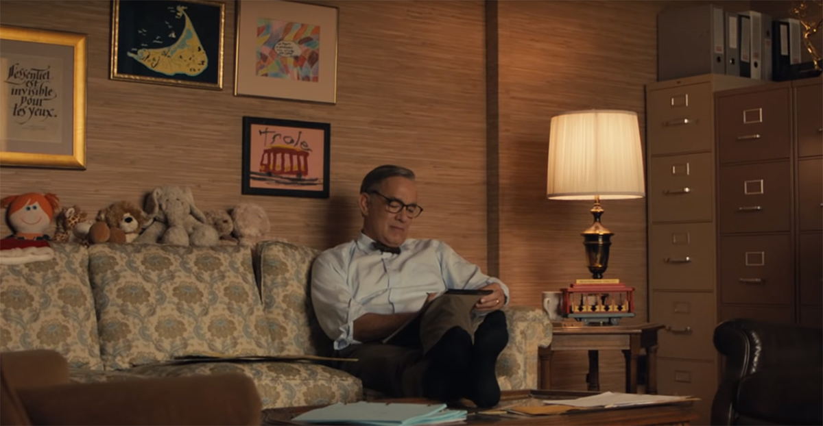It's Truly A BEAUTIFUL DAY IN THE NEIGHBORHOOD in the First Mister Rogers Trailer