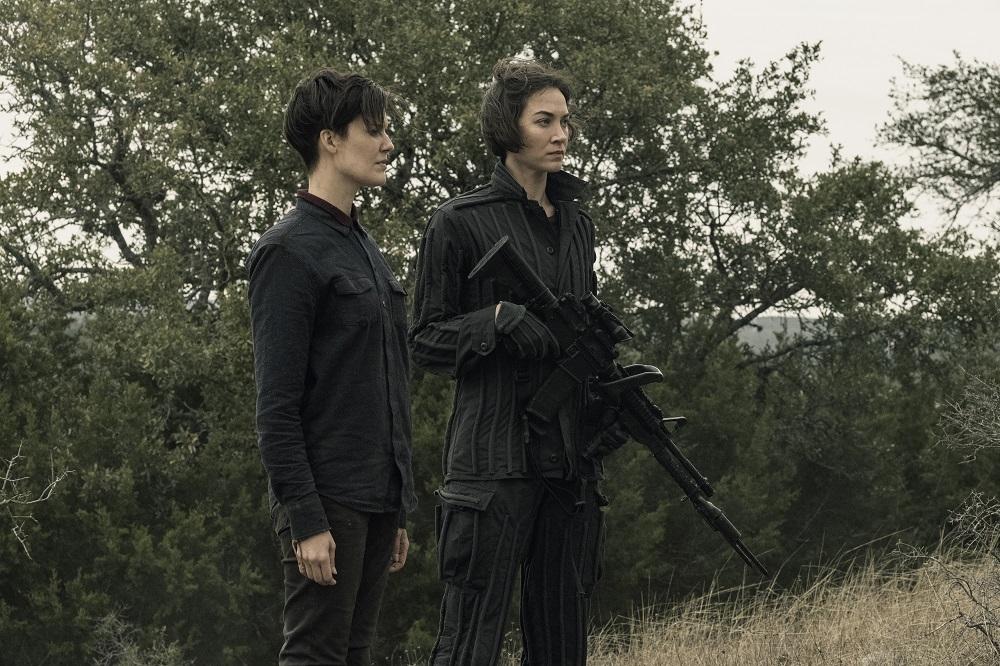 Al Meets Isabelle on Fear the Walking Dead