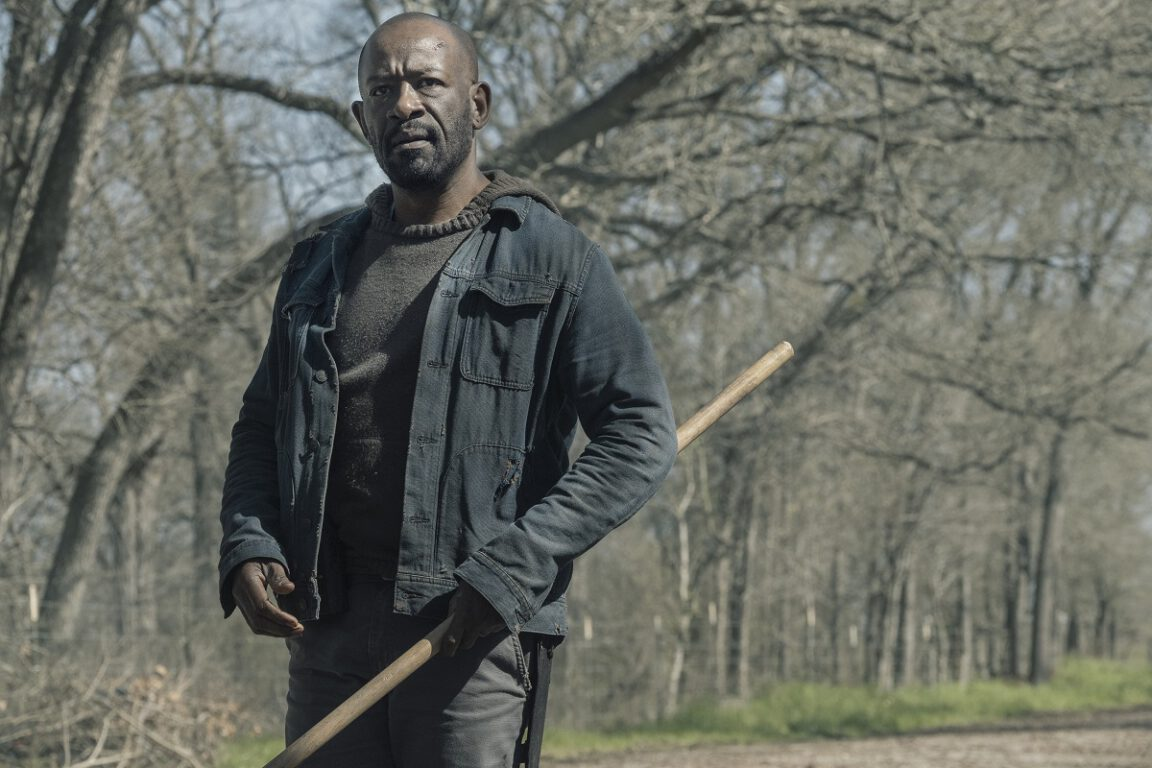 Morgan prepares to help in a dangerous situation on Fear the Walking Dead