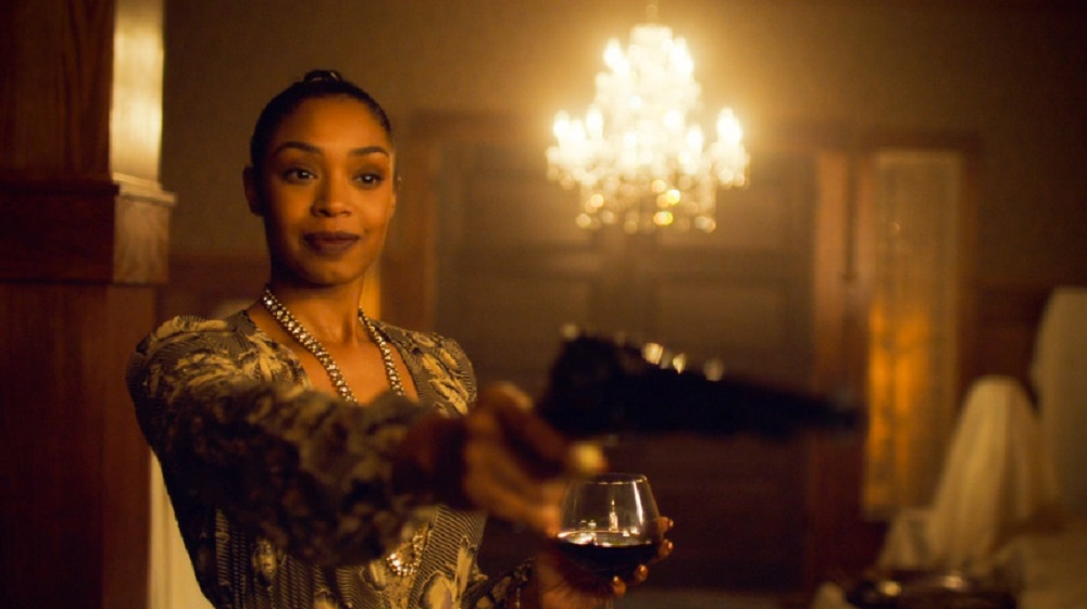 Still of Chantel Riley as Kate in Wynonna Earp.