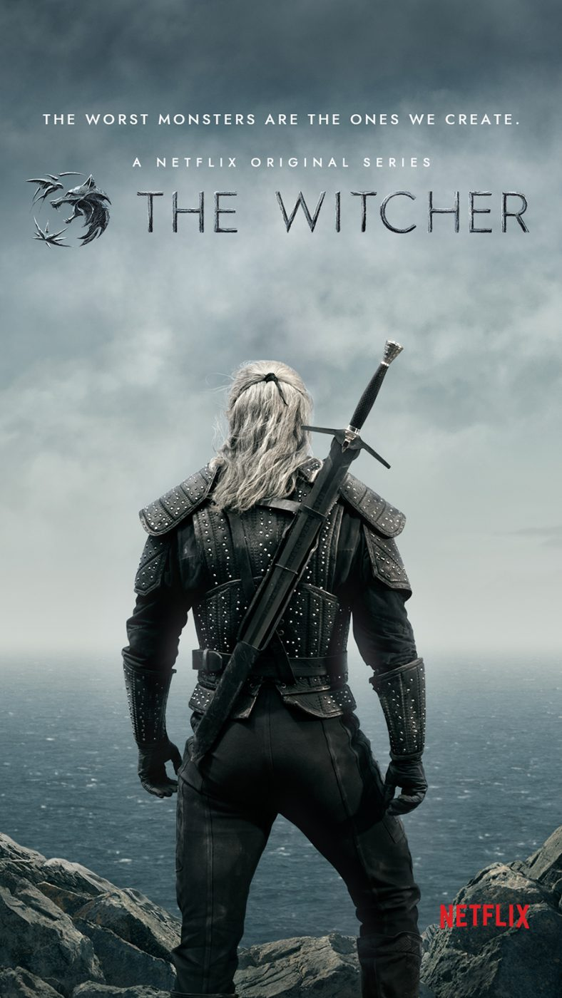 Official Poster of Netflix's The Witcher