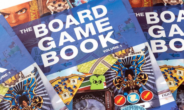 GGA Book Review:  Find Your Next Game Night Favorite with THE BOARD GAME BOOK