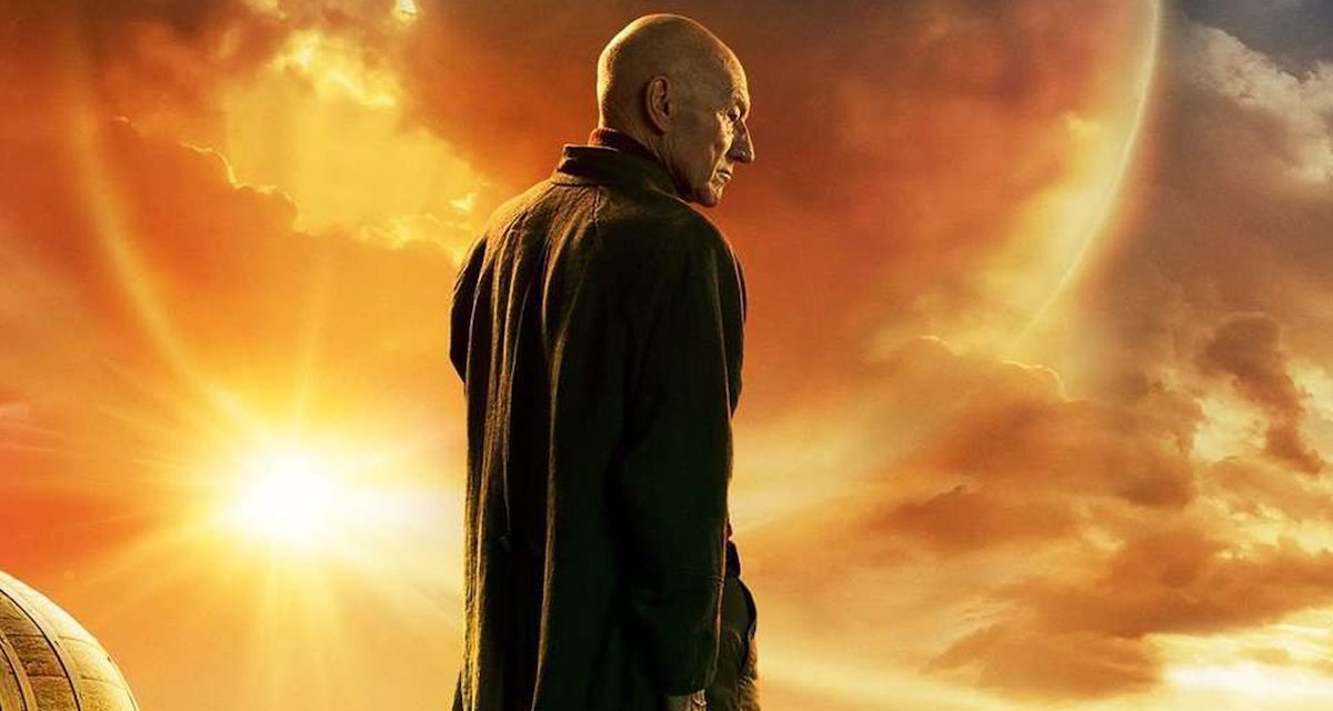 New STAR TREK: PICARD Poster Has a Four-Legged Surprise