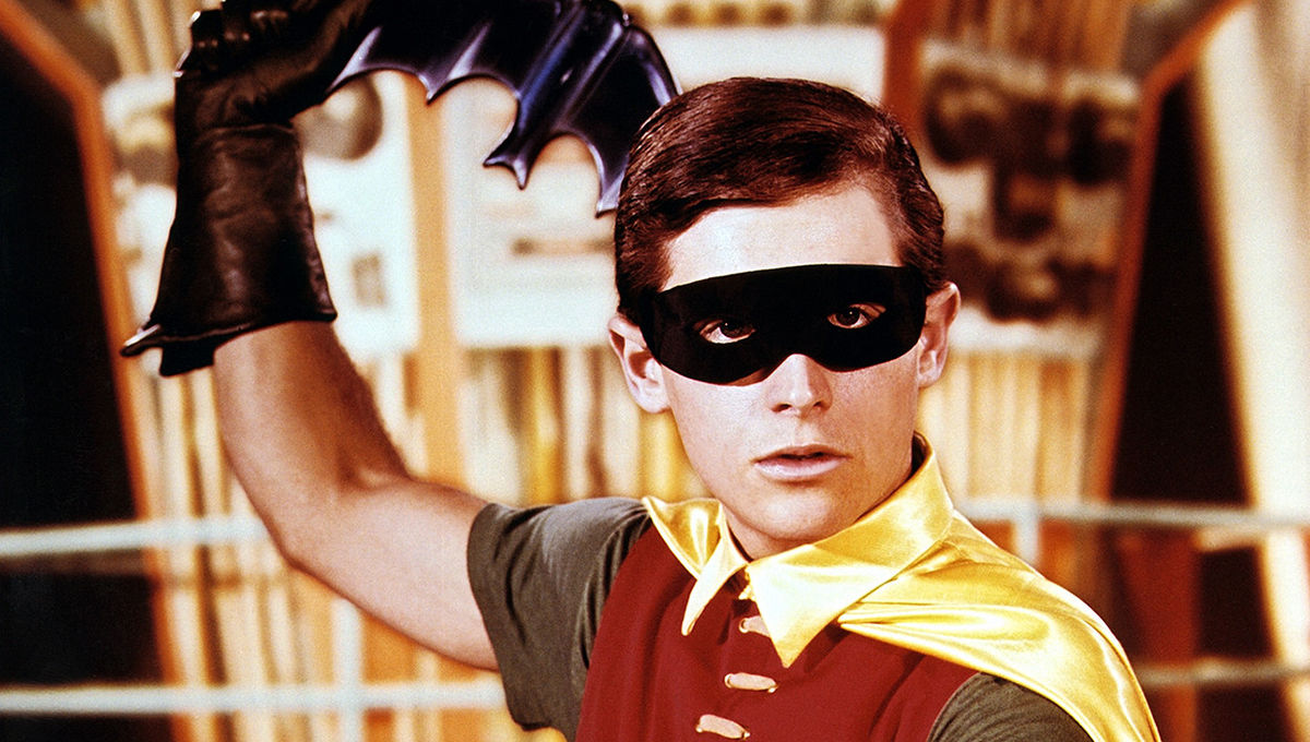 Burt Ward as Robin in Live Action Batman series
