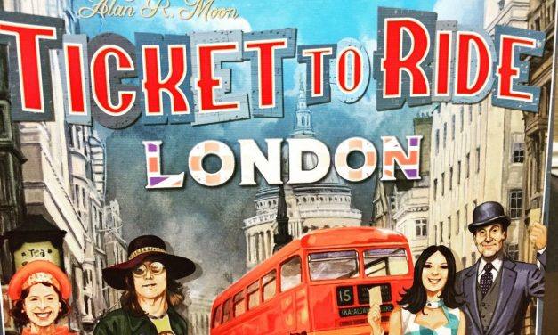 TICKET TO RIDE: LONDON – A Double-Decker Busload Of Fun