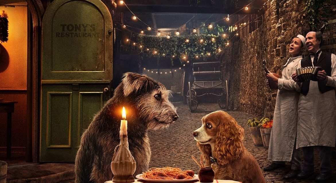 D23 2019: Disney's Live-Action LADY AND THE TRAMP Draws Up Nostalgia in First Poster