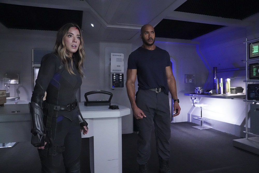 MACK AND DAISY ARE IN FOR A SUPRISE ON MARVEL'S AGENTS OF S.H.I.E.L.D.