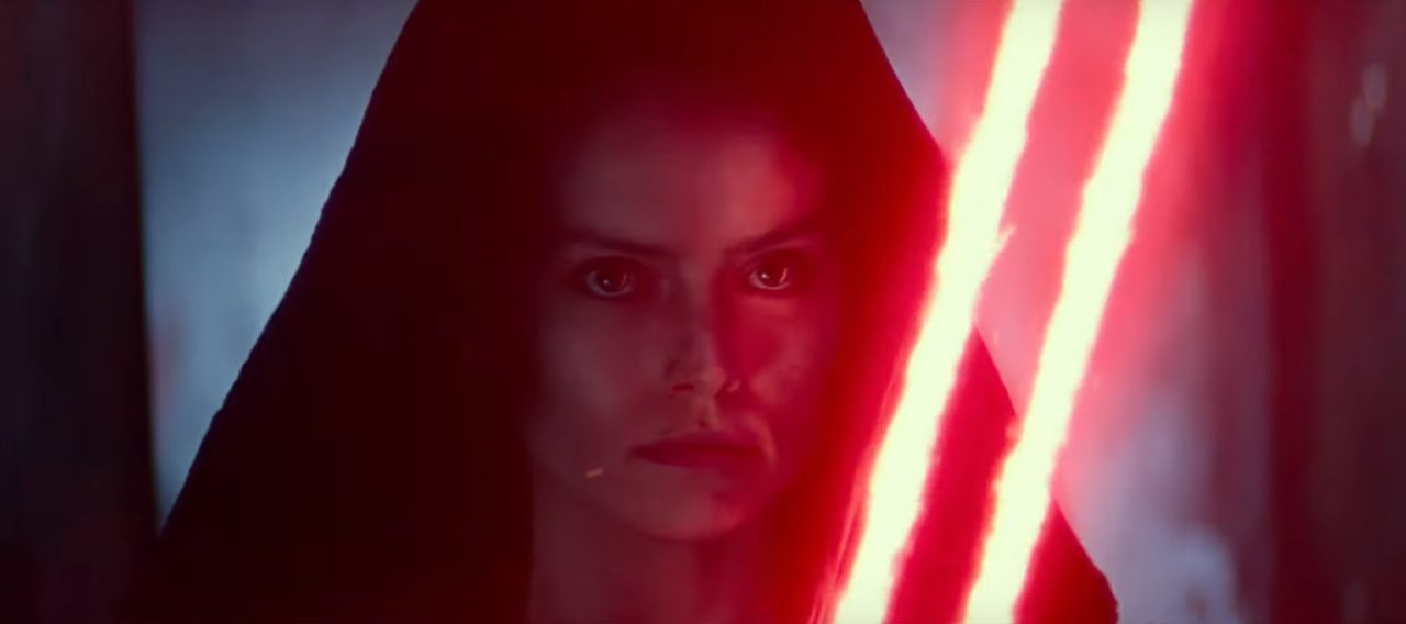 STAR WARS: THE RISE OF SKYWALKER Reel Shows a Darker Rey