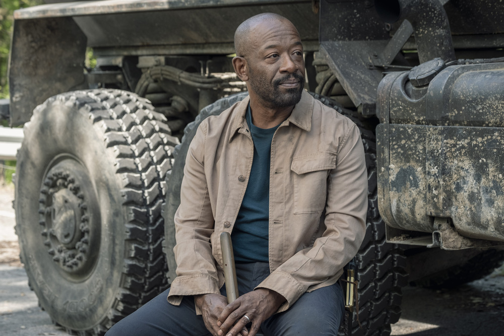 "Morgan reflects on their journey on Fear the Walking Dead ""Channel 4"""
