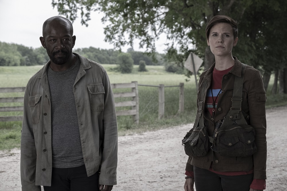 Morgan and Al on Fear the Walking Dead