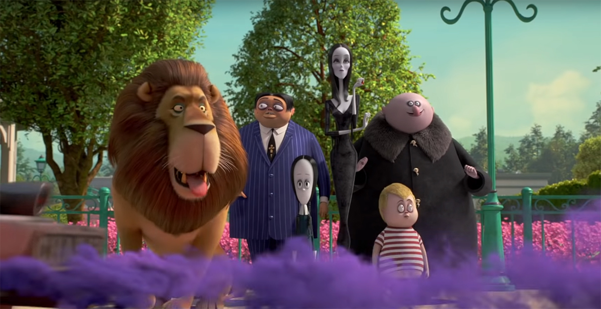 THE ADDAMS FAMILY Spook the Neighbors in Official Trailer