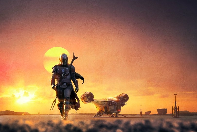 D23 2019: THE MANDALORIAN Walks Alone in New Poster