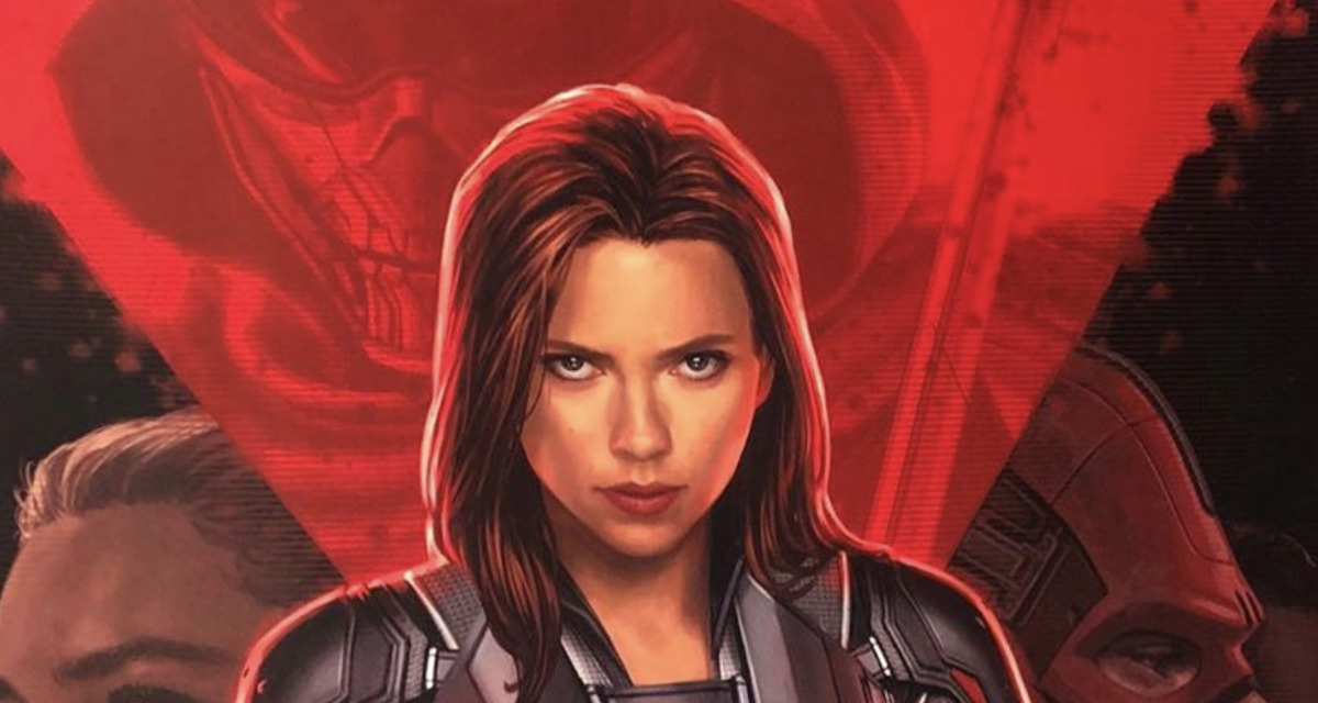 D23 2019: Official BLACK WIDOW Poster Revealed with Film's Major Characters