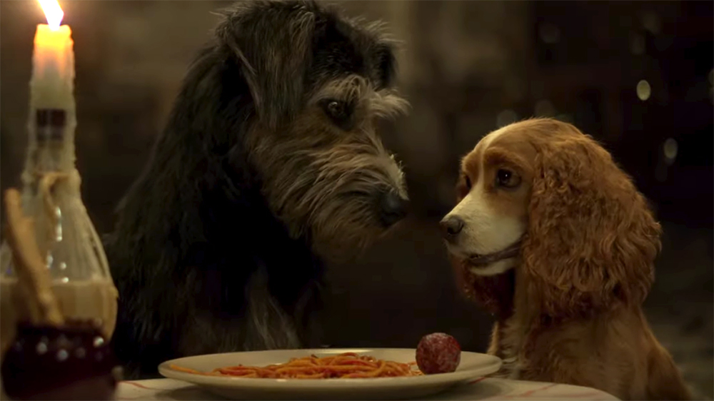 D23 2019: First LADY AND THE TRAMP Trailer Will Give You All the Feels