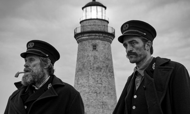 Robert Pattinson and Willem Dafoe Go Mad in THE LIGHTHOUSE Trailer