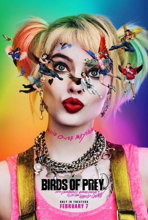 DC's Birds of Prey first movie poster