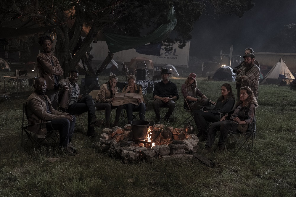 The group makes a bold move on Fear the Walking Dead