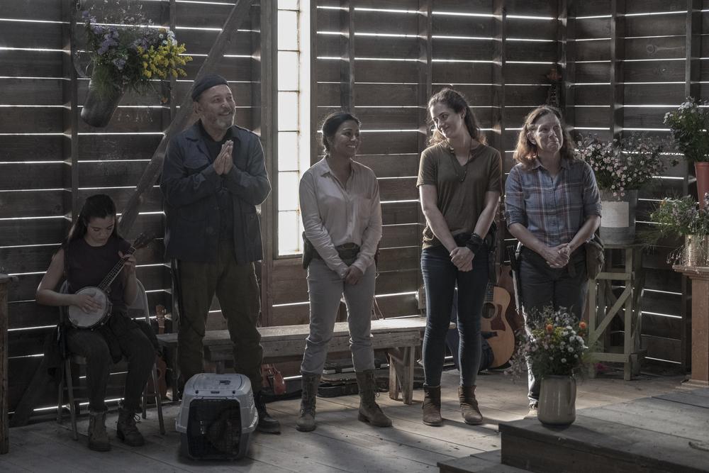 The Wedding on Fear the Walking Dead