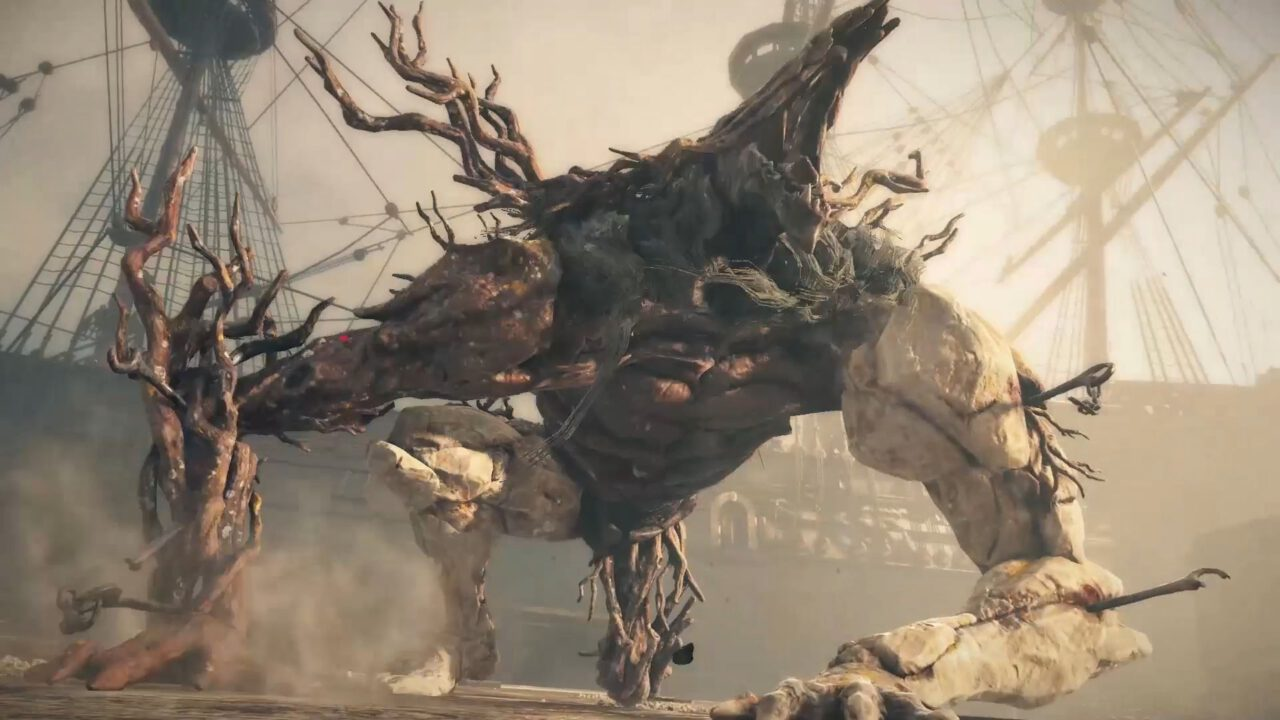 "greedfall - the formidable ""guardians"" of Teer Fradee."