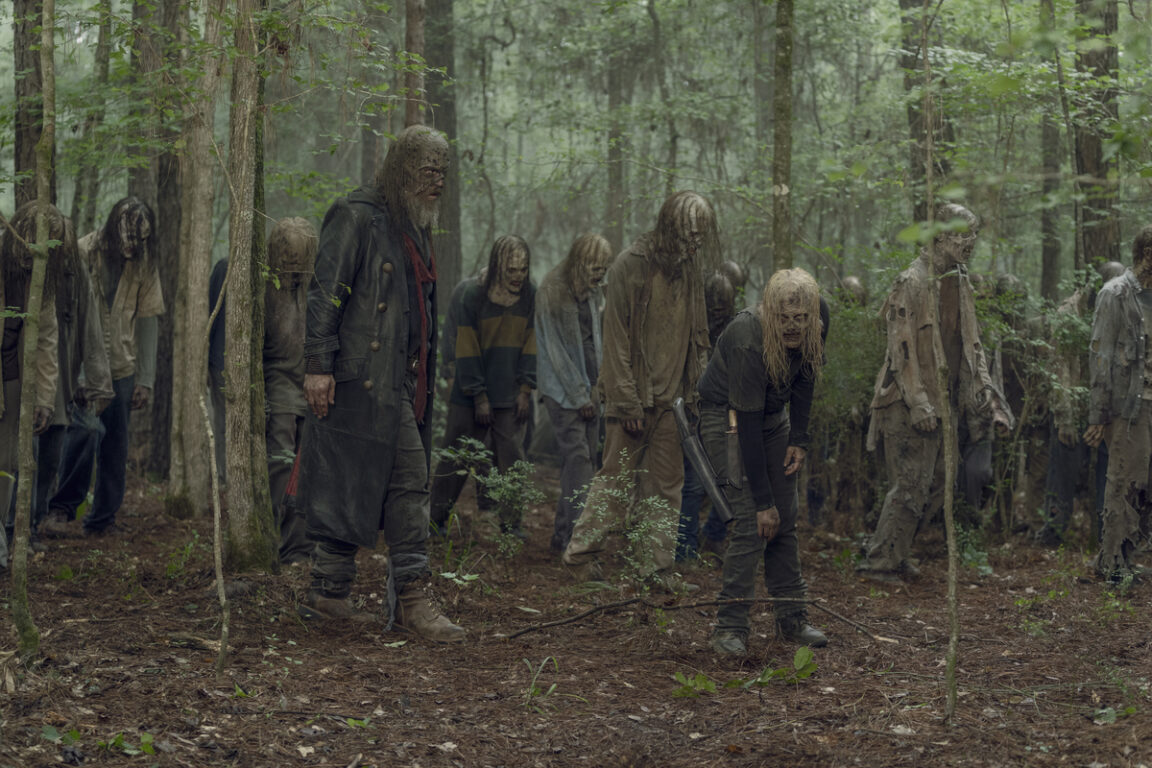 The Whisperers on The Walking Dead