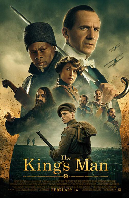 The latest The King's Man Poster features cast
