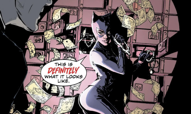 Comic Book Review – CATWOMAN #15