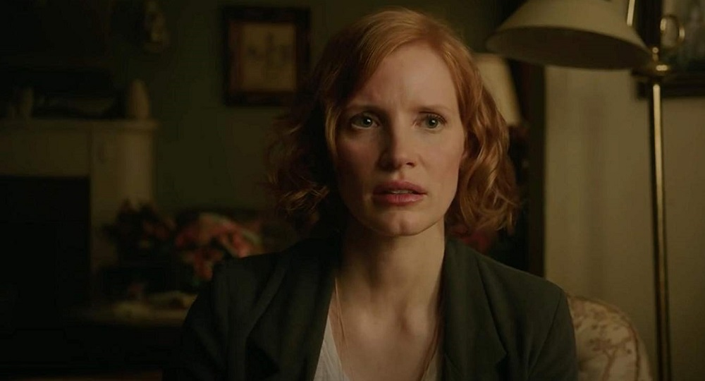 Jessica Chastain plays Beverly Marsh in It: Chapter Two