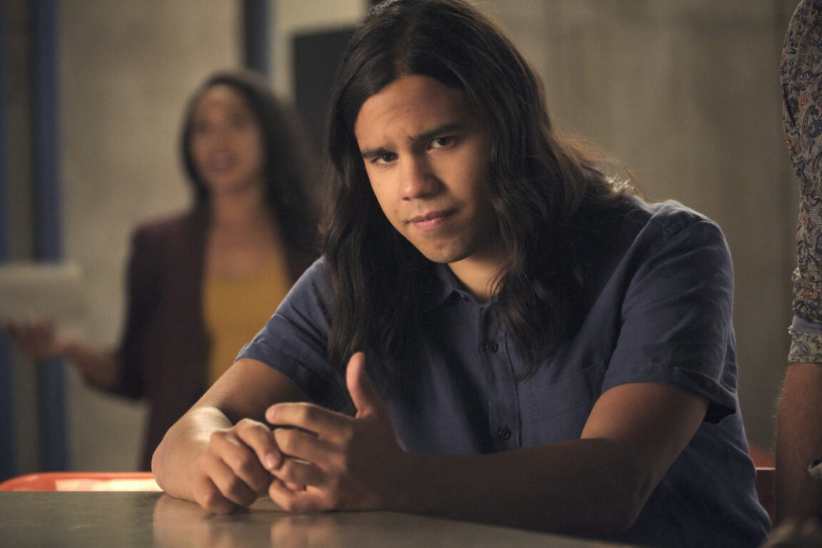Cisco is concerned about the black hole on The Flash