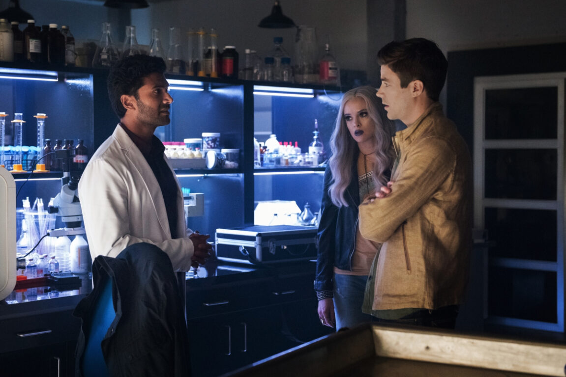 Barry meets Dr. Rosso on The Flash