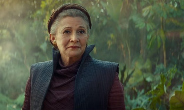 Leia Comes to Life in STAR WARS: THE RISE OF SKYWALKER VFX Breakdown