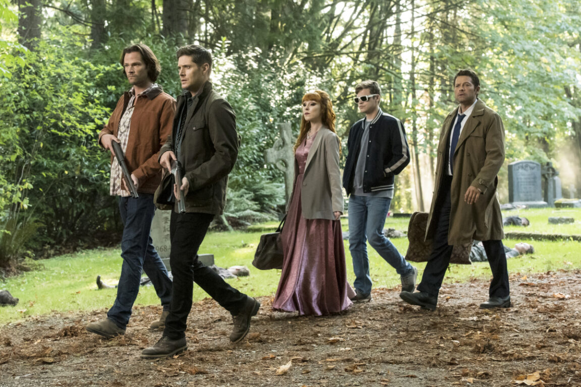 Team Winchester march into battle on Supernatural