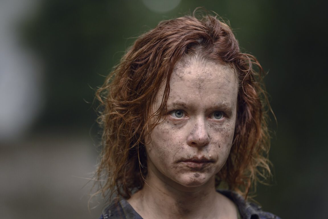 Thora Birch is Gamma on The Walking Dead