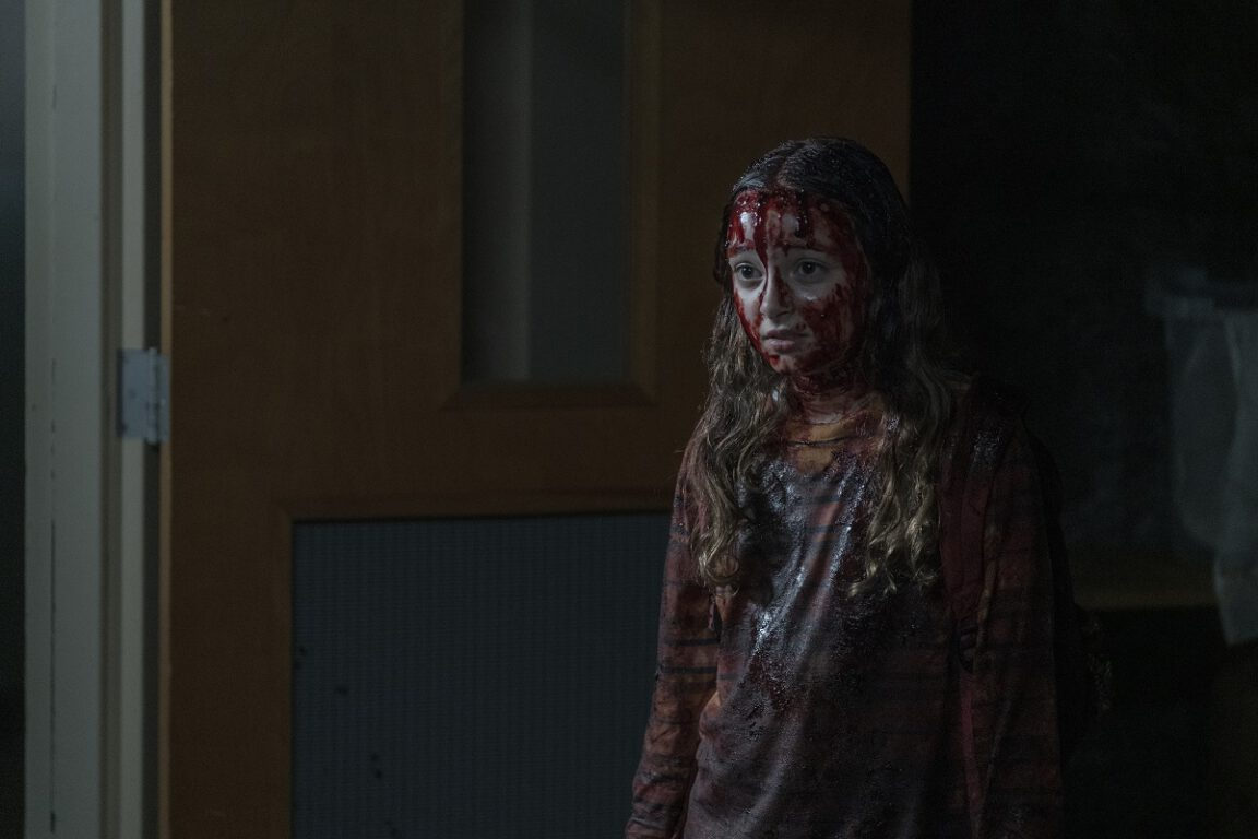 Havana Blum as Young Lydia on The Walking Dead