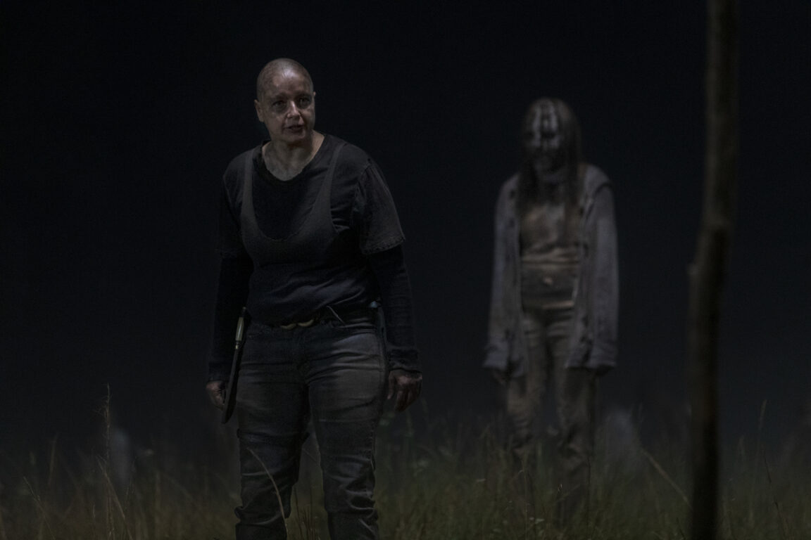Alpha enforces her rules on The Walking Dead