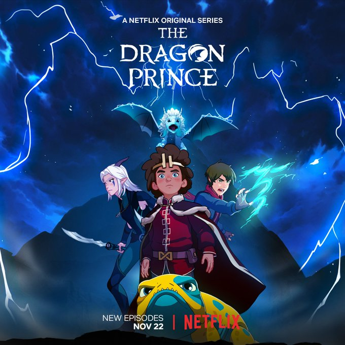Dragon Prince: NYCC 2019: Book 3 Release Date Confirmed For THE DRAGON PRINCE