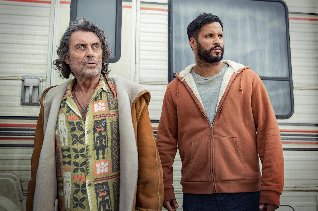 First image of Mr. Wednesday and Shadow Moon in American Gods season three.