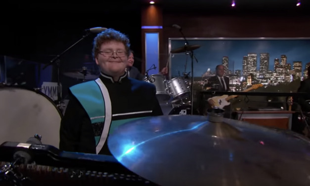 Do You Need Some Joy? Check Out This Viral High School Drummer on Jimmy Kimmel Live