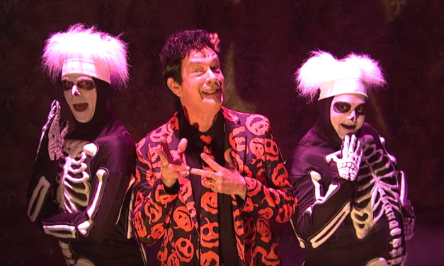 It's That David S. Pumpkins Time of Year Again – Here's One Full Hour of That Crazy Elevator Ride