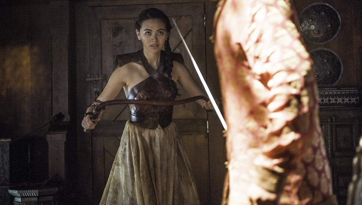 jessica henwick as nymeria sand in game of thrones