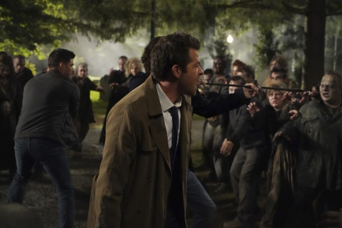 the Boys fight back against the dead on the Supernatural Season 15 premiere