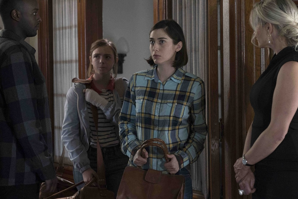 The members of Ace's cult welcome Annie and Joy on Castle Rock