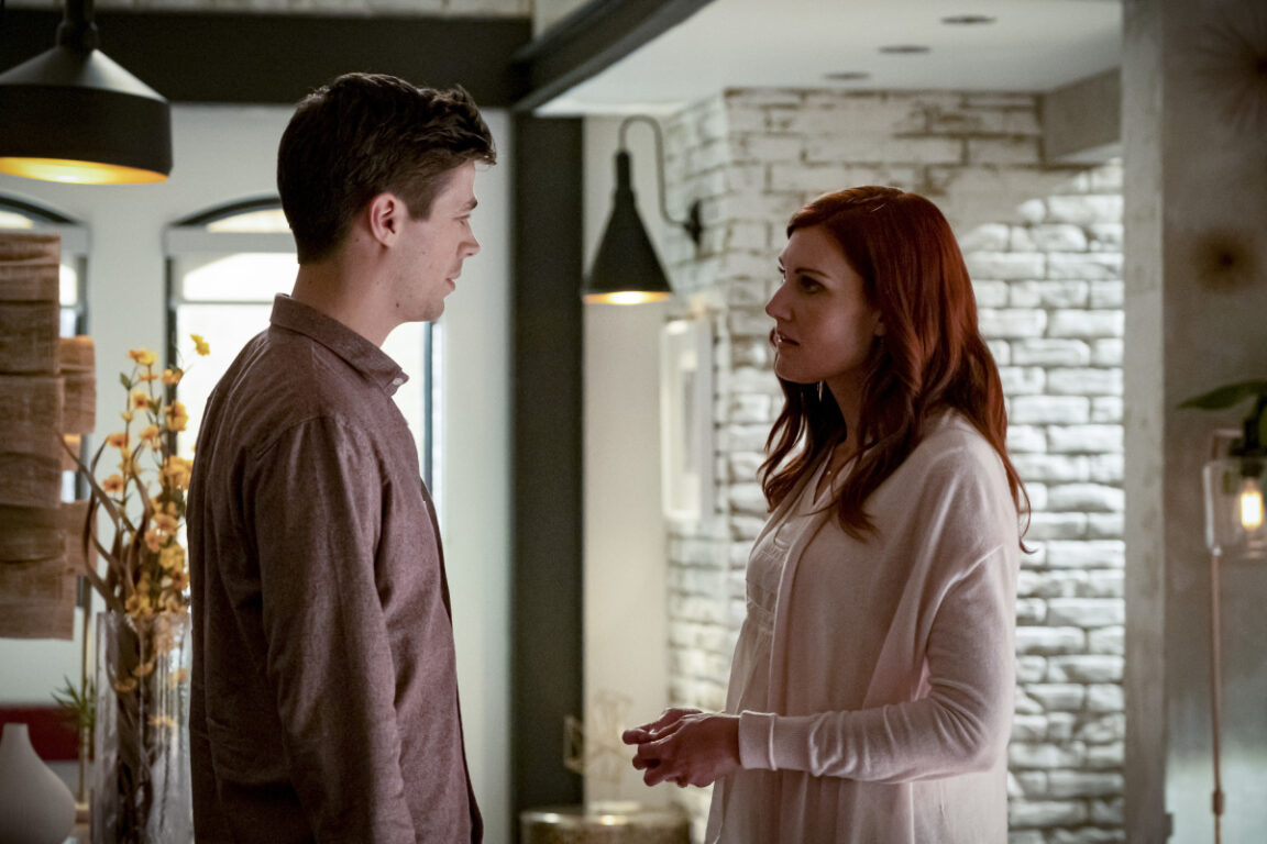 Nora Allen helps Barry gain control on The Flash