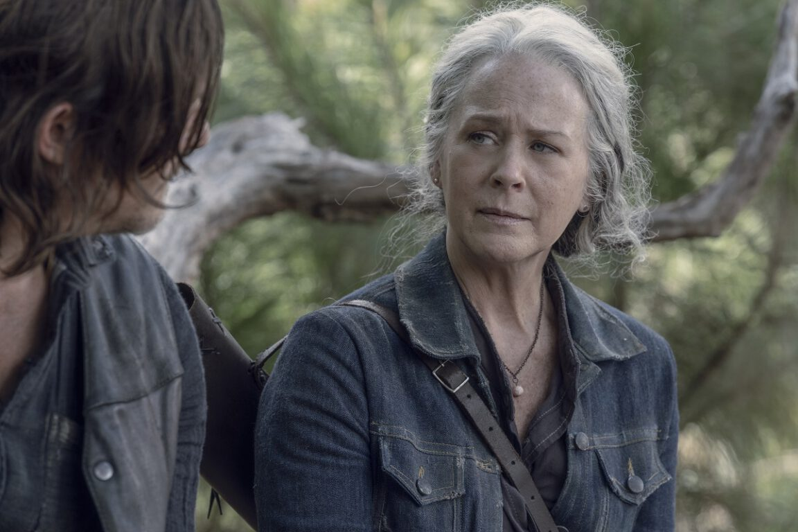 Carol and Daryl test their bonds on The Walking Dead