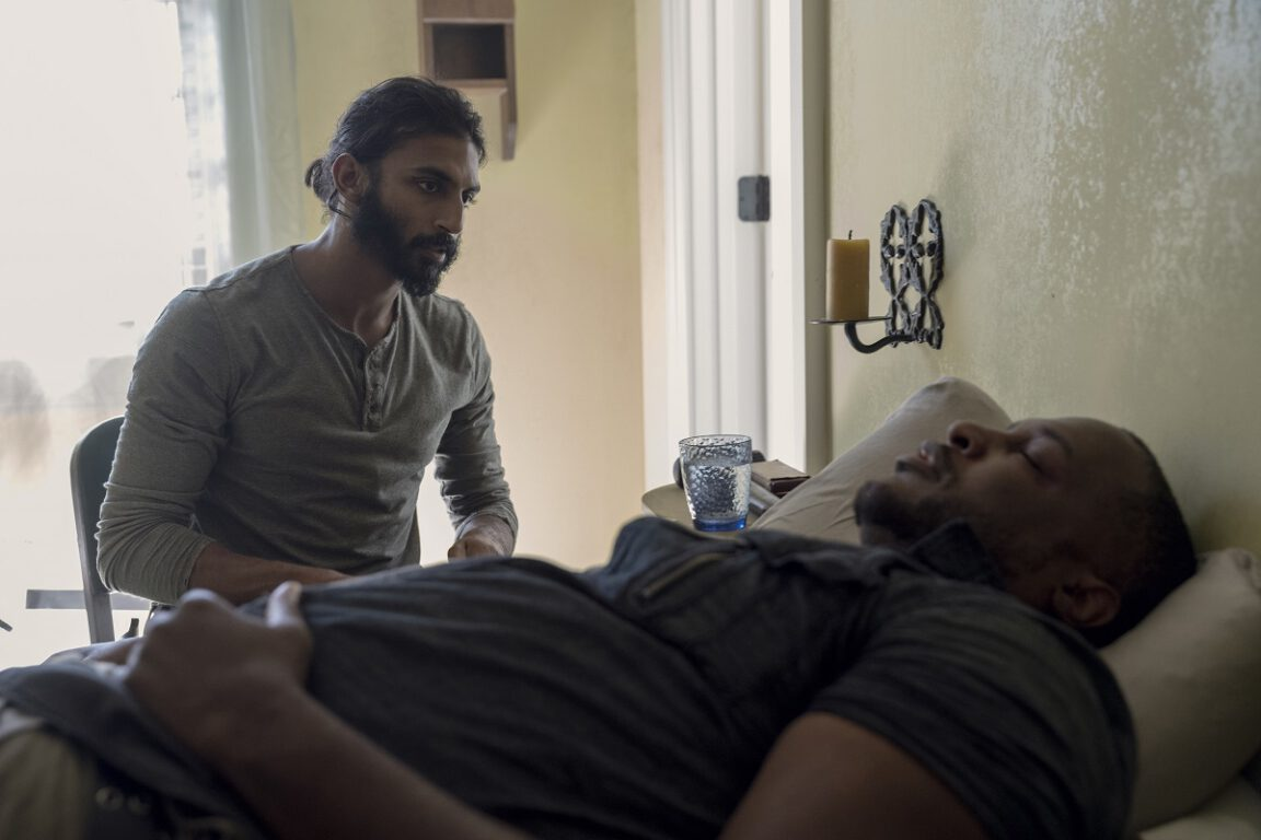 Siddiq doesn't know what's making his patients sick on The Walking Dead