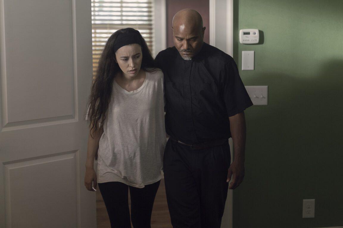 Rosita is still among the sick on The Walking Dead