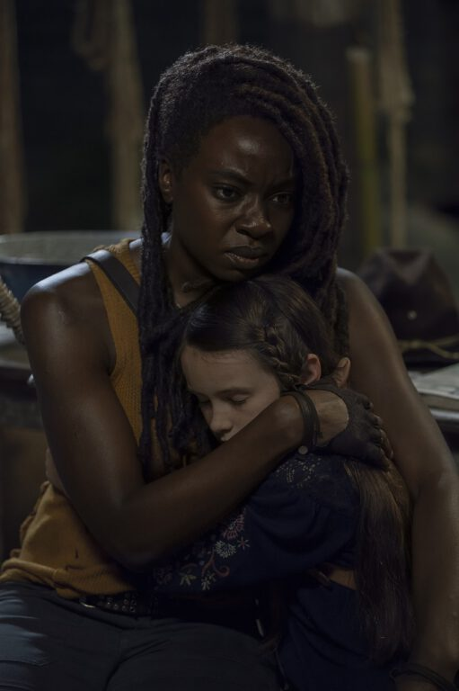 The Kids are what Michonne fights for on The Walking Dead