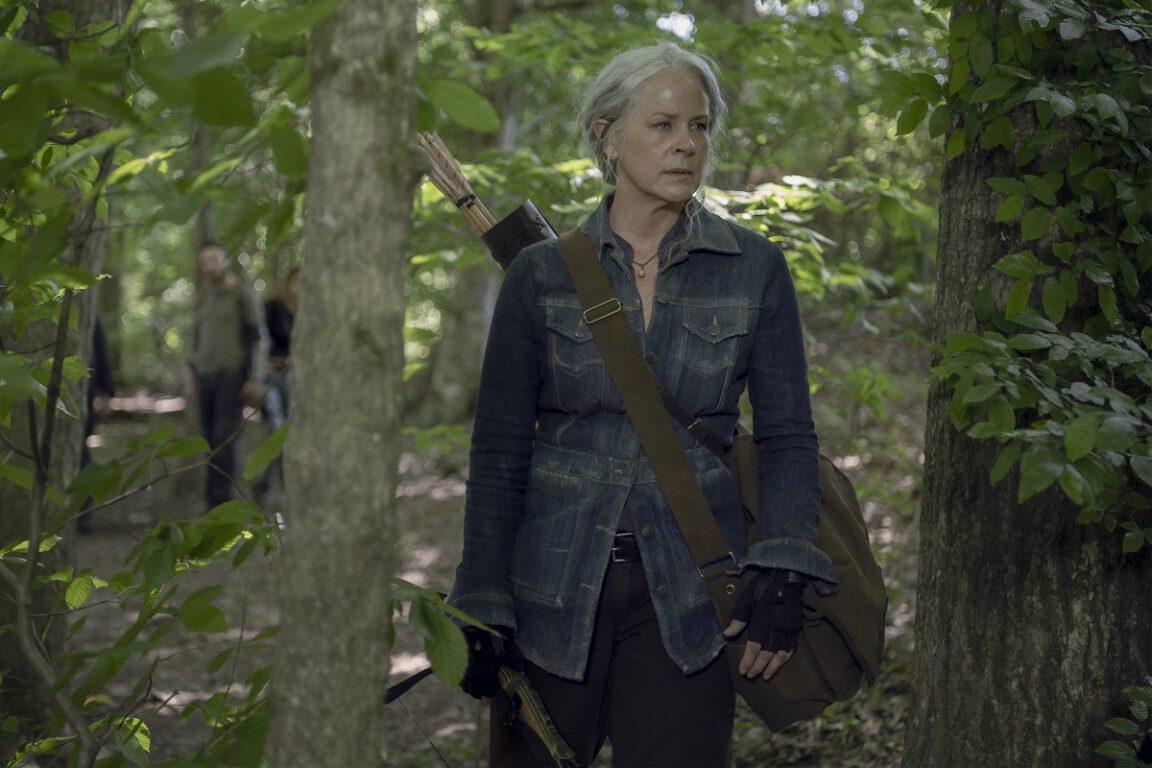Carol is blinded by revenge in The Walking Dead
